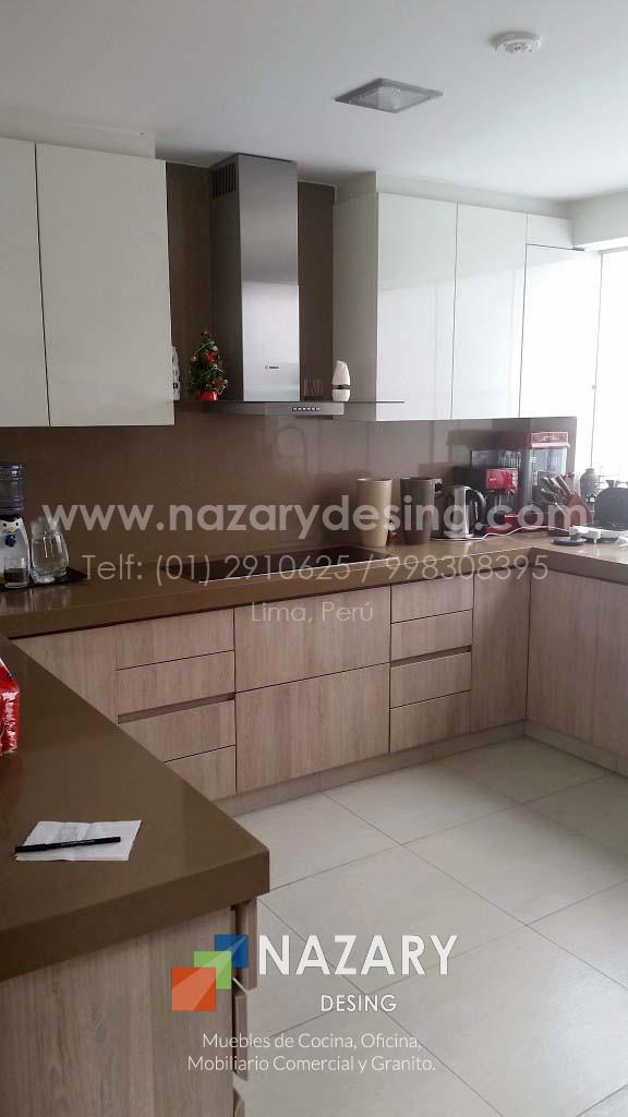 Cocina Dyer 2 | Nazary Desing SAC | Muebles de Cocina, Oficina ...